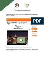 Instructivo 01 - Campus Online 01