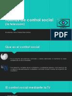 Formas de Control Social