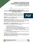 Executive Order No. SCB-Pres-01-051214