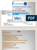 Outils CRM Oxygène