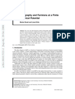 M. Rozali, L. Brits - Holography and Fermions at a Finite Chemical Potential