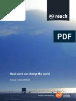 Reach Skills Annual Report 2013/14