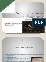 Tecnologías de la Información Israel Báez