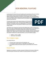JMFF Guidelines