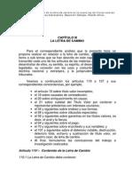 Clausulas Especiales de Titulo de Valores (Letra de Cambio)
