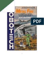 15 Saga Robotech Fuego de Metal Metal Fire