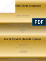 10 Ideas de Negocio