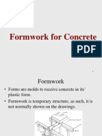 Formwork - PTPG Lecture 09-10-2013