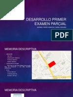 Desarrollo Primer Examen Parcial