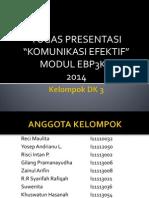 Tugas Komunikasi Efektif DK 3