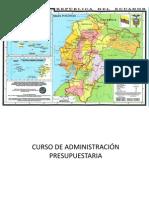 CURSO DE ADMINISTRACI+ôN DE PRSUPUESTO