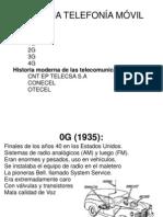 Historia Telefonía Móvil