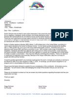 donation letter original