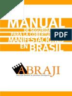 Manual de seguridad para la cobertura de las protestas en Brasil