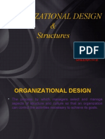Organizational Design and Structures