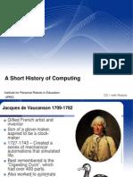 Short History Computing