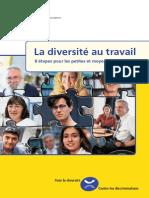 Diversité Au Travail - 8 Étapes Pour Les PME - 2007