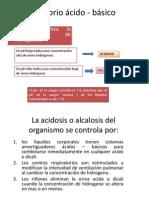 Equilibrio ácido - básico