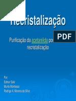 9 - Recristalização Da Acetanilida BAC 2007