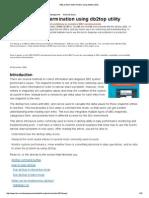 DB2 Problem Determination Using Db2top Utility