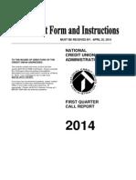 Callreport5300 March-2014 First Frontier