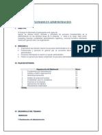 Diplomado Administración 2013