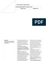 process chart inquiry project pdf