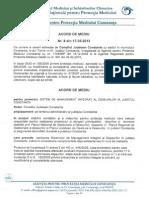 Acord Mediu Nr. 8 Din 17.05.2013