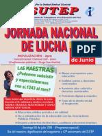 Jornada Nacional de Lucha 26-06-2014