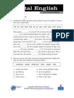 HW - Revision Present Simple-tarea Prox Clase