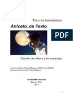Aniceto, De Favio