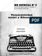 N 3 Informe Especial Vulnerabilidad Social y Educacion1