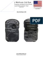 Wolfcom 3rd Eye Police Camera Brochure