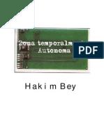 Bey Hakim Zona Temporalmente Autonoma 1991