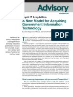 Rapid Information Technology Acquisition