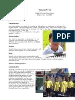 Campus News 9-11-09