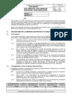 Y-AMB-R-01 Manejo Ambiental Para Empresas Contratistas y Subcontratistas