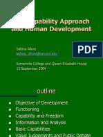Capabilities and Human Development, Sabina Alkire