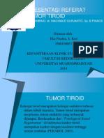 Referat Tumor Tiroid