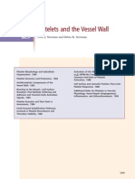 Platelets and the Vessel Wall