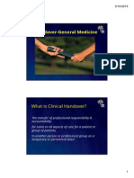 Handover Powerpoint Gen Med