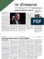 E Reader Newspaper