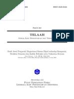 Studi Awal Pengaruh Magnetisasi Sistem Dipol