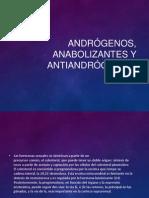 Andrógenos, Anabolizantes y Antiandrógenos