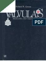 VALVULAS Seleccion Uso y Mantenimiento