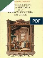 Introducción a La Historia de La MAsonería Chilena