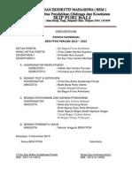 Surat Keputusan Panitia Kaderisasi
