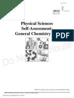 gen chem self assessment