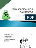9-Intoxicacion Por Causticos