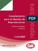 Cobb 500ff Breeder Managment Supplement (Spanish)